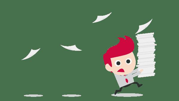 Infografika: Informační chaos ve firmách