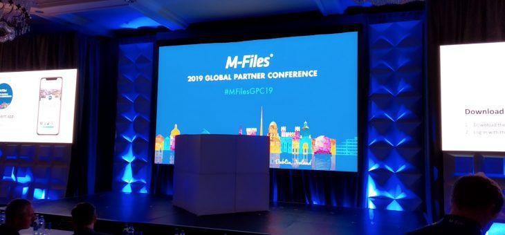 Globální úspěch na M-Files partnerské konferenci 2019