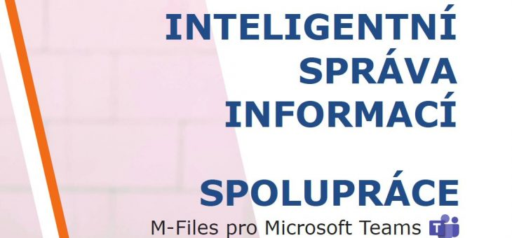 Infografika: M-Files pro MS Teams