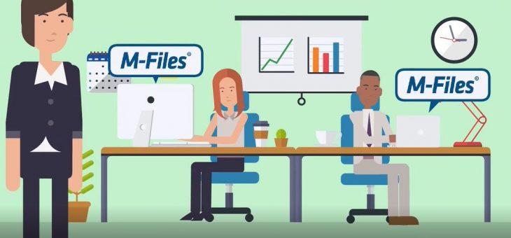 Video: Zefektivnění procesů v rámci back office pomocí M-Files