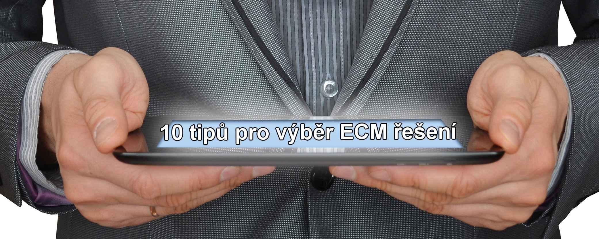 10 tipů ECM